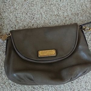 Marc by Marc JacobsGray Leather Cross Body Bag